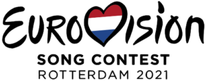 Logo des Eurovision Song Contest 2021 in Rotterdam